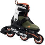 Rollerblade Microblade Free 3WD Military Green/Orange
