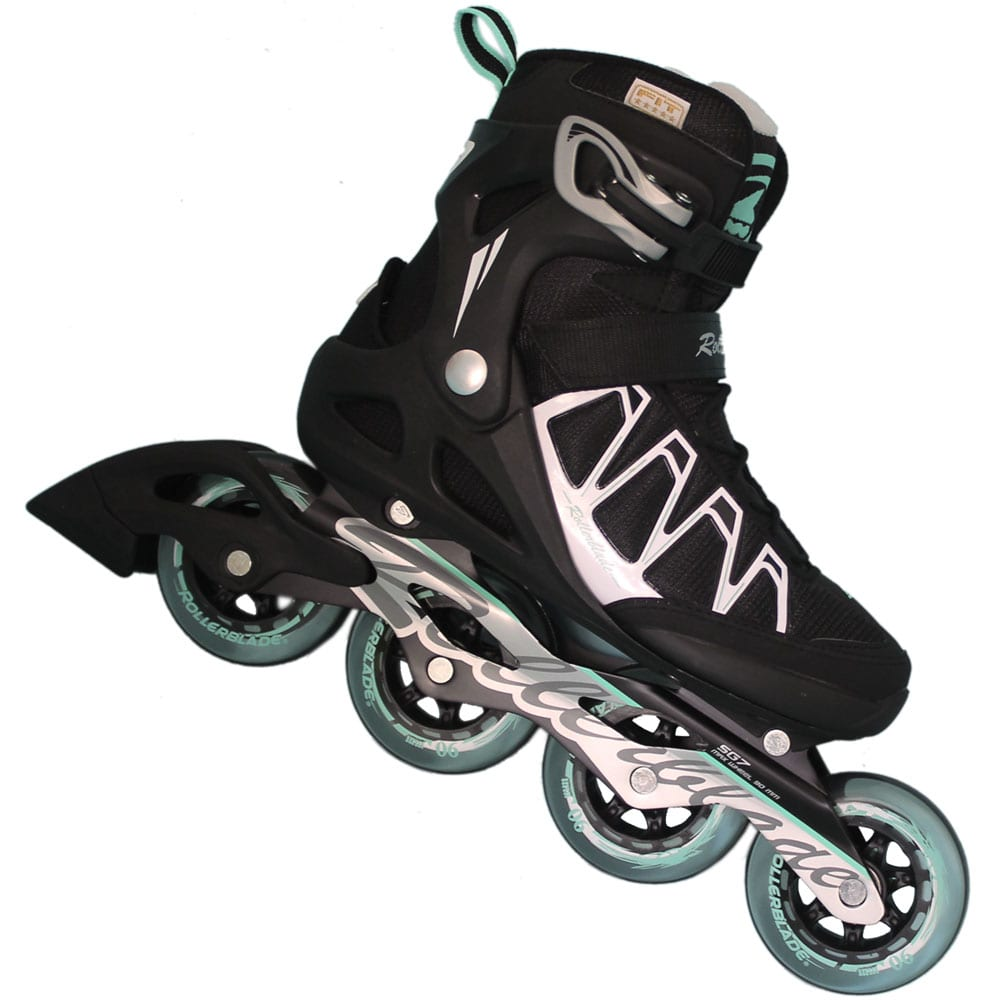 rollerblade spark 90 w damen inline skate black white. Black Bedroom Furniture Sets. Home Design Ideas