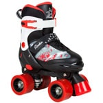 Rookie Ace Kinder-Rollschuhe Black/Red