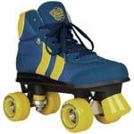 Rookie Retro Rollschuhe Blue/Yellow
