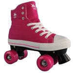 Rookie Rollerskates Canvas High (Pink)