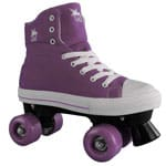 Rookie Rollerskates Canvas High (Purple)