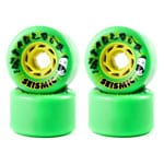 Seismic Tantrum Longboard Wheels 72mm 81A - Green