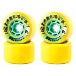 Seismic Tantrum Longboard Wheels 72mm 78A - Yellow