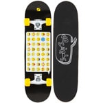 Stuf Emo Skatboard Black/Yellow/White