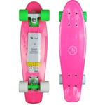 Stuf Funny Retro Mini Cruiser Skateboard 131483-001 Pink