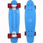 Stuf Retro Venice Mini Cruiser Skateboard 131146-002 - Blue/Red