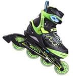 Stuf Xoom 2 Boy Junior Inline Skates 1002544 - Black/Green/Blue