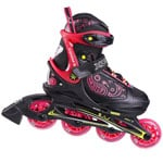 Stuf Xoom G Girl Junior Inline Skates 1002545 - Black/Pink