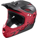 Alpina Fullface Downhill-Helm Black-Red