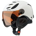 Alpina Jump JV Performance Skihelm A9037 White Matte