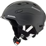 Alpina Snow Mythos Skihelm Black Matt