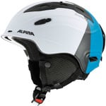 Alpina Snow Mythos Skihelm White-Silver-Blue Matt