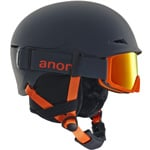 anon Define Skihelm mit Skibrille Gray/Red Amber