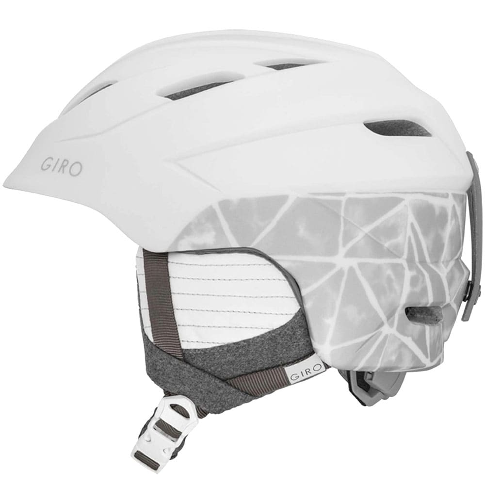Giro Decade Damen-Skihelm Matte White Tile