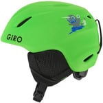 Giro S Launch Kinder Skihelm Matte Bright Green