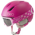 Giro Launch Combo Pack Kinder-Skihelm Launch Goggle Rev