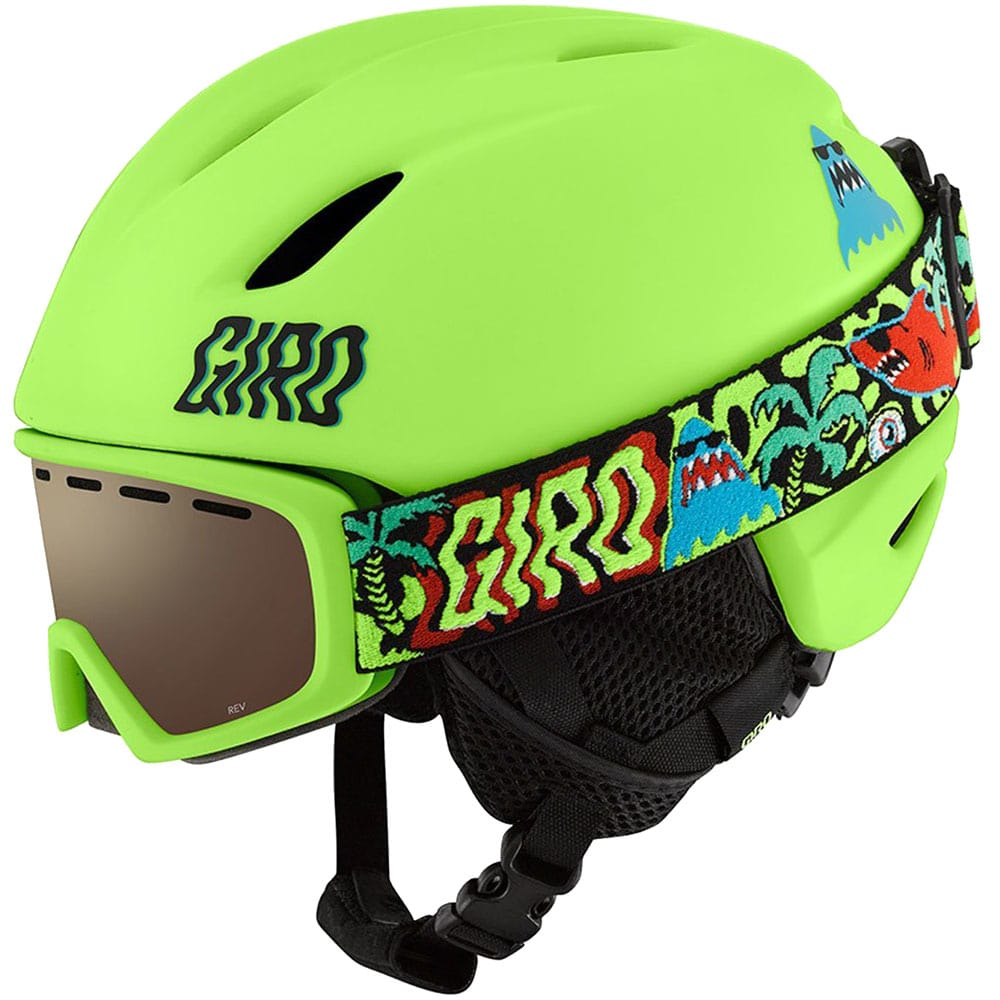 giro launch combo pack kinder skihelm launch goggle chico. Black Bedroom Furniture Sets. Home Design Ideas