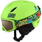 Giro Launch Combo Pack Kinder-Skihelm Launch Goggle Chico