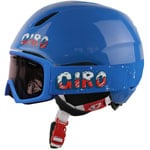 Giro Launch Combo Pack Skihelm Brille Blue Icee