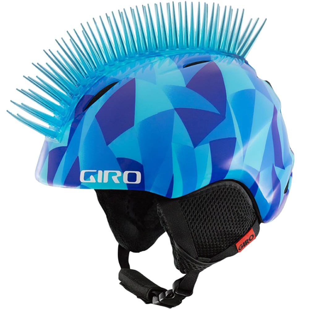 Giro Launch Plus 240117 Kinder-Skihelm Blue Icehawk