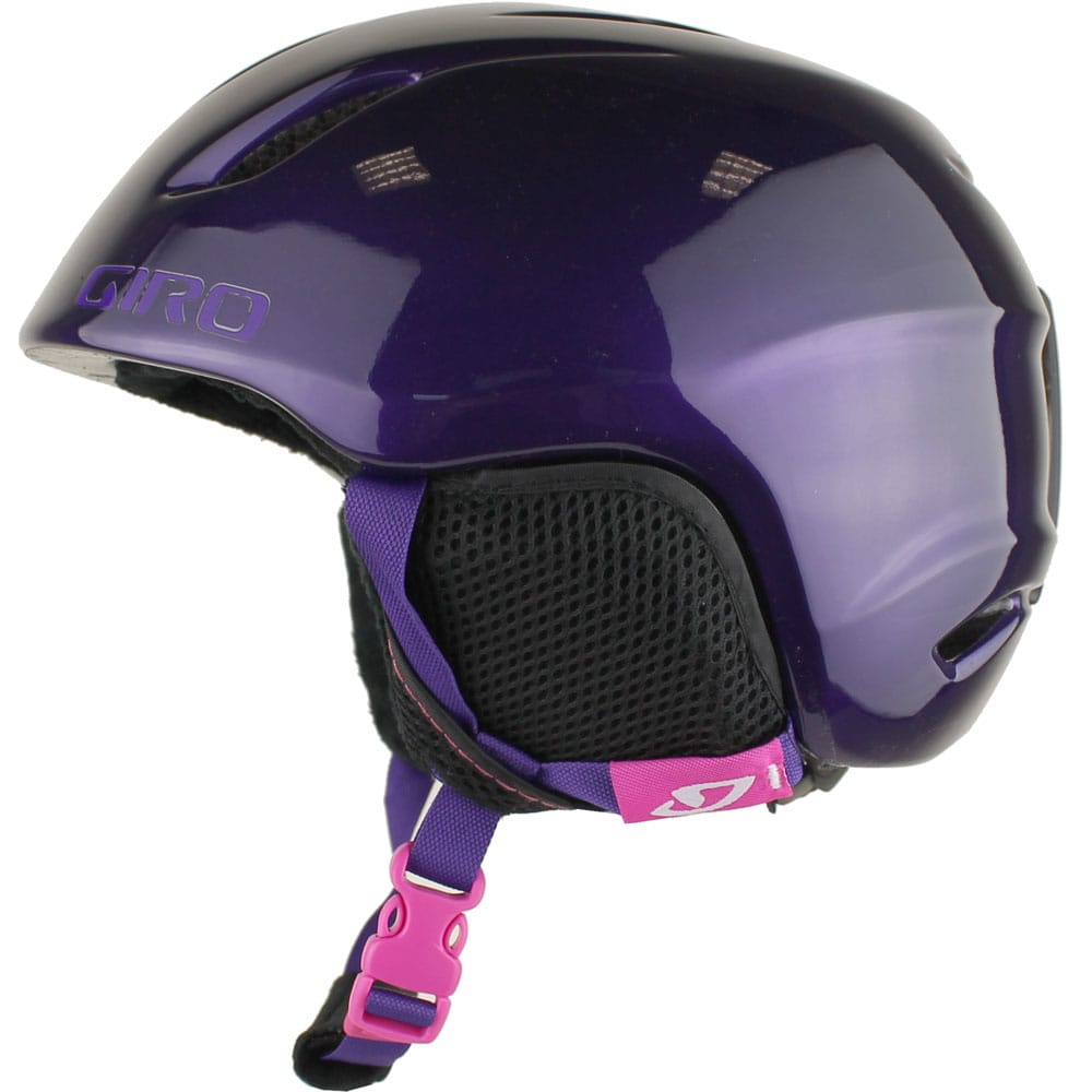 giro s launch kinder skihelm purple hearts fun sport vision. Black Bedroom Furniture Sets. Home Design Ideas
