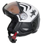 HMR H2 R Soft Skihelm (Spider White Black) 2015