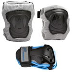 K2 Performance W Pad Set Skate-Schuetzerset Grey/Black