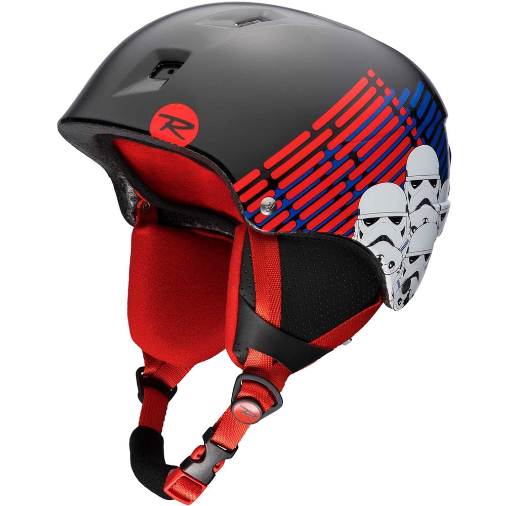 Rossignol Comp J Star Wars Kinder-Skihelm Black/Red