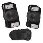 Stuf Advanced Junior Protector Set 110893 (Black Red)