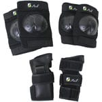 Stuf Basic Adult Protector Set 114954 - Black/Green
