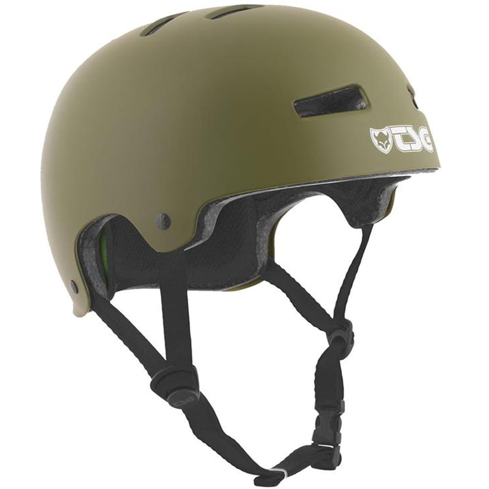 TSG Evolution Solid Color Skatehelm Satin Olive