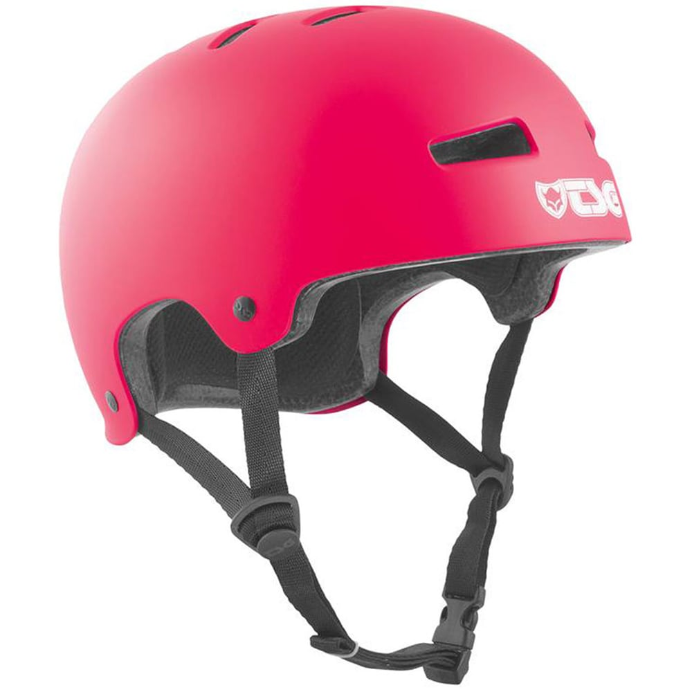 TSG Evolution Solid Color Skatehelm Satin Pink
