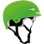 TSG Evolution Solid Color Skatehelm Flat Lime Green