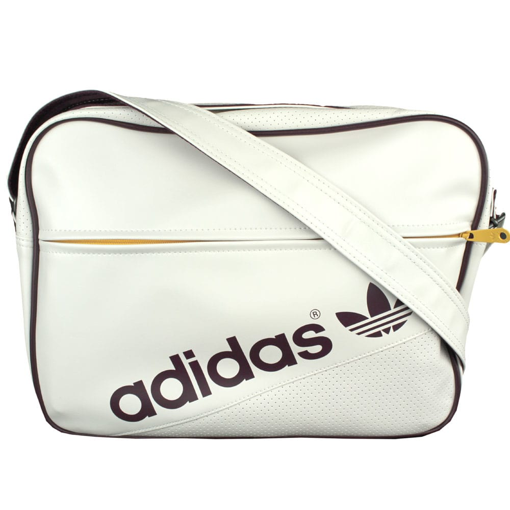 f033e8cde5f2 Adidas AC Airline Messenger Bag G84894 (white maroon)