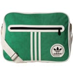 adidas Originals Airliner Suede Messenger Bag Chalk White/Green