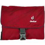 Deuter Wash Bag I Waschtasche Fire/Aubergine