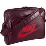 Nike Heritage SI Track Bag Night Maroon/University Red