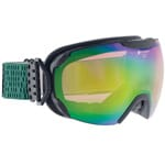 Alpina Pheos Skibrille Black Matt/Green