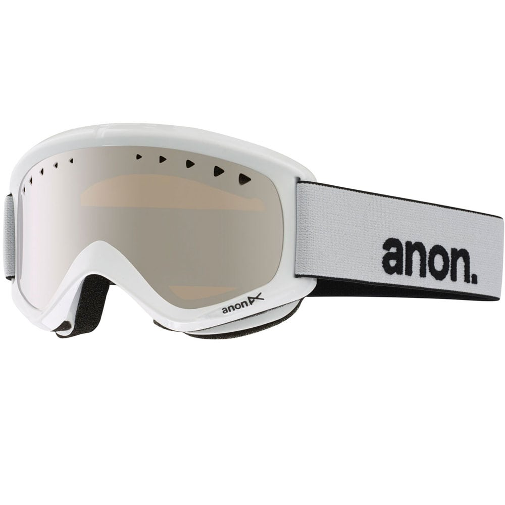 Anon Helix Snowboardbrille White/Silver Amber
