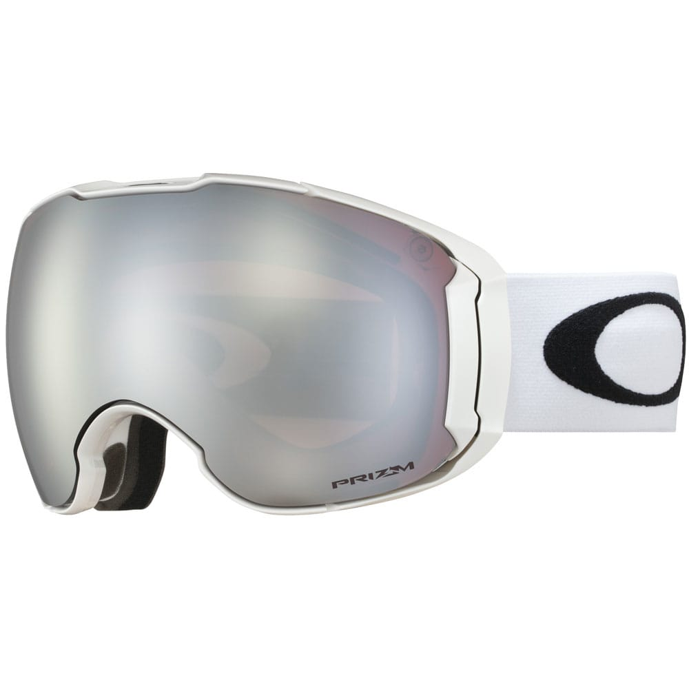Oakley Airbrake XL Snowboardbrille Polished White/Prizm Black
