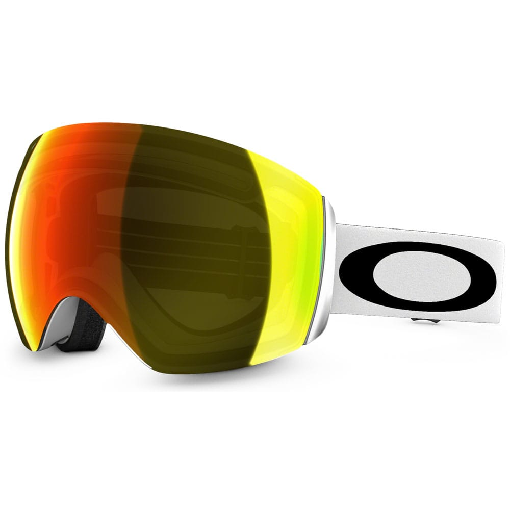 Oakley Flight Deck Snowboardbrille 59-713 (Matt Wht) Fire Iridium