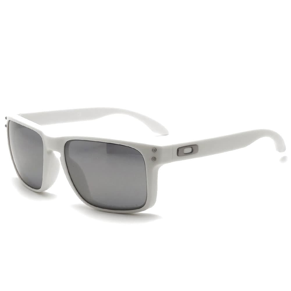 Oakley Brille Holbrook - Matte Cloud Black Iridium Polarized JaZWyRv