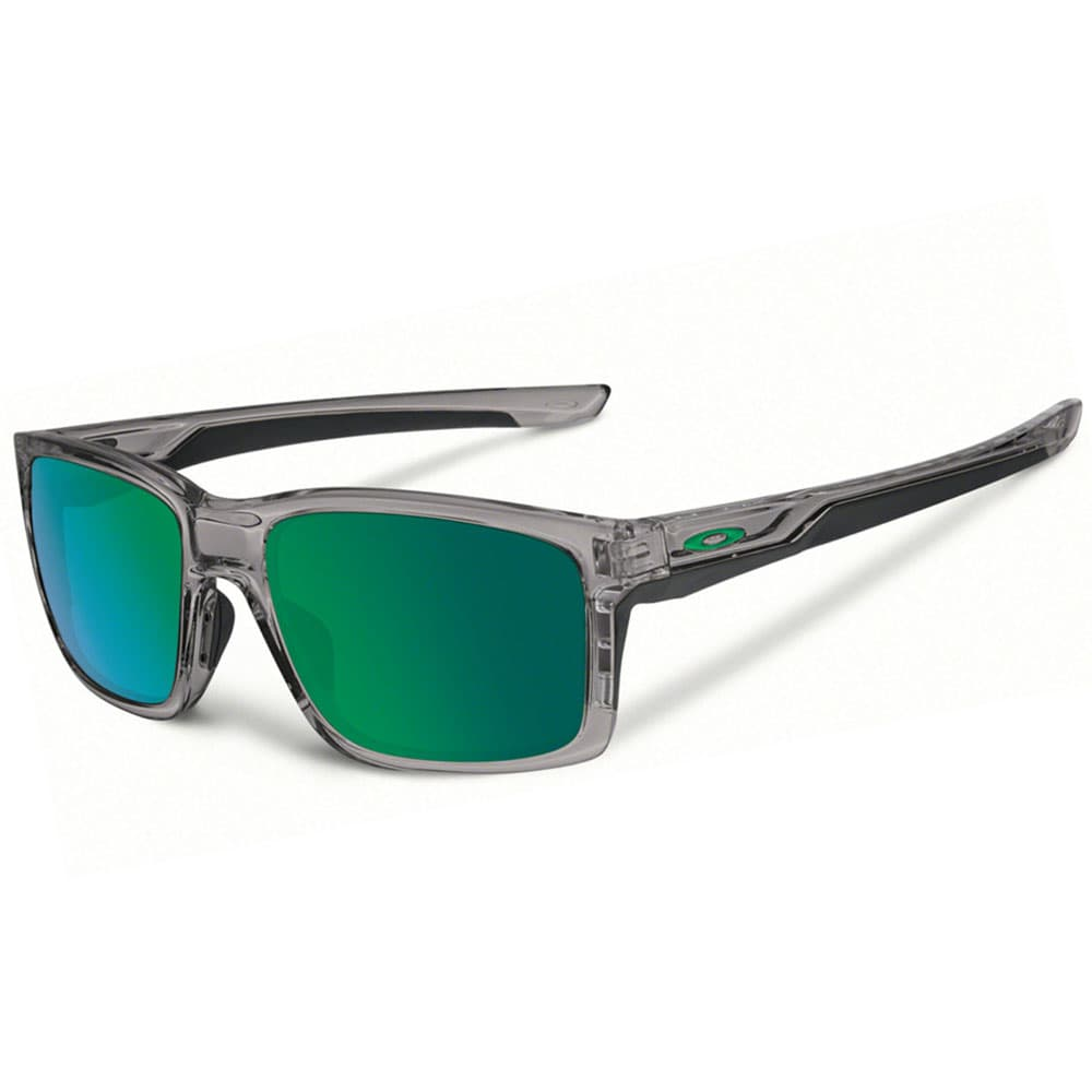 Oakley Mainlink Grey Smoke/Jade Iridium