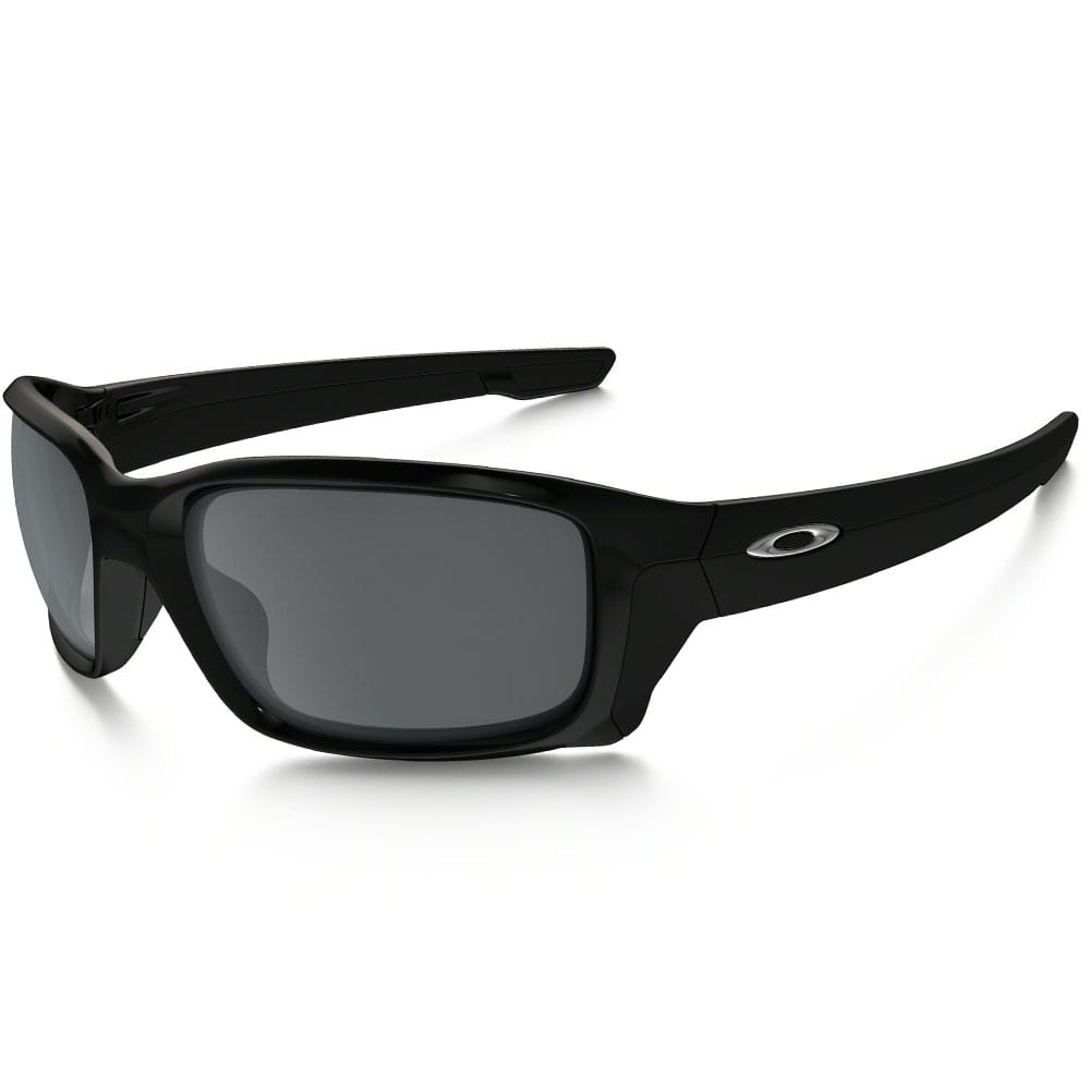 Oakley Straightlink Sonnenbrille Polished Black/Black