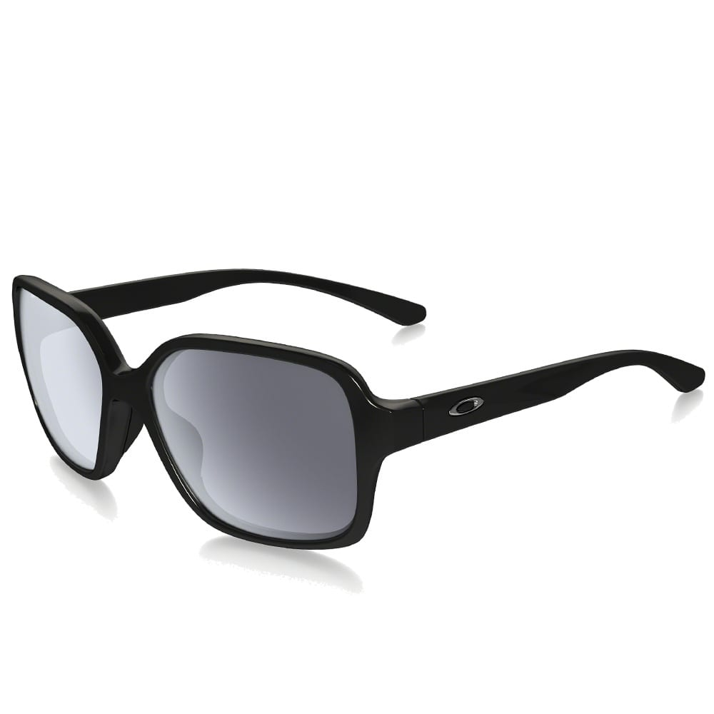 Oakley Proxy Sonnenbrille Polished Black/Grey