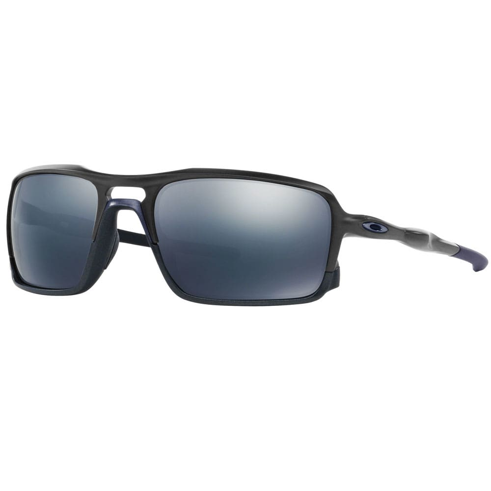 Oakley Triggerman Sonnenbrille Steel/Ice Iridium