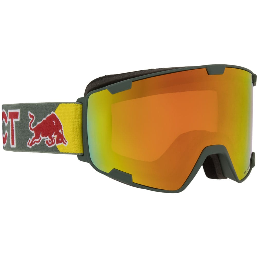 Red Bull Spect Goggle Park Olive Green/Red Snow-