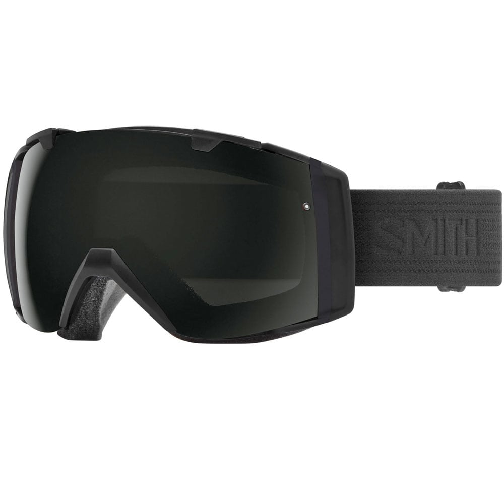Smith I/O Snowboardbrille Blackout/Sun Black ChromaPop