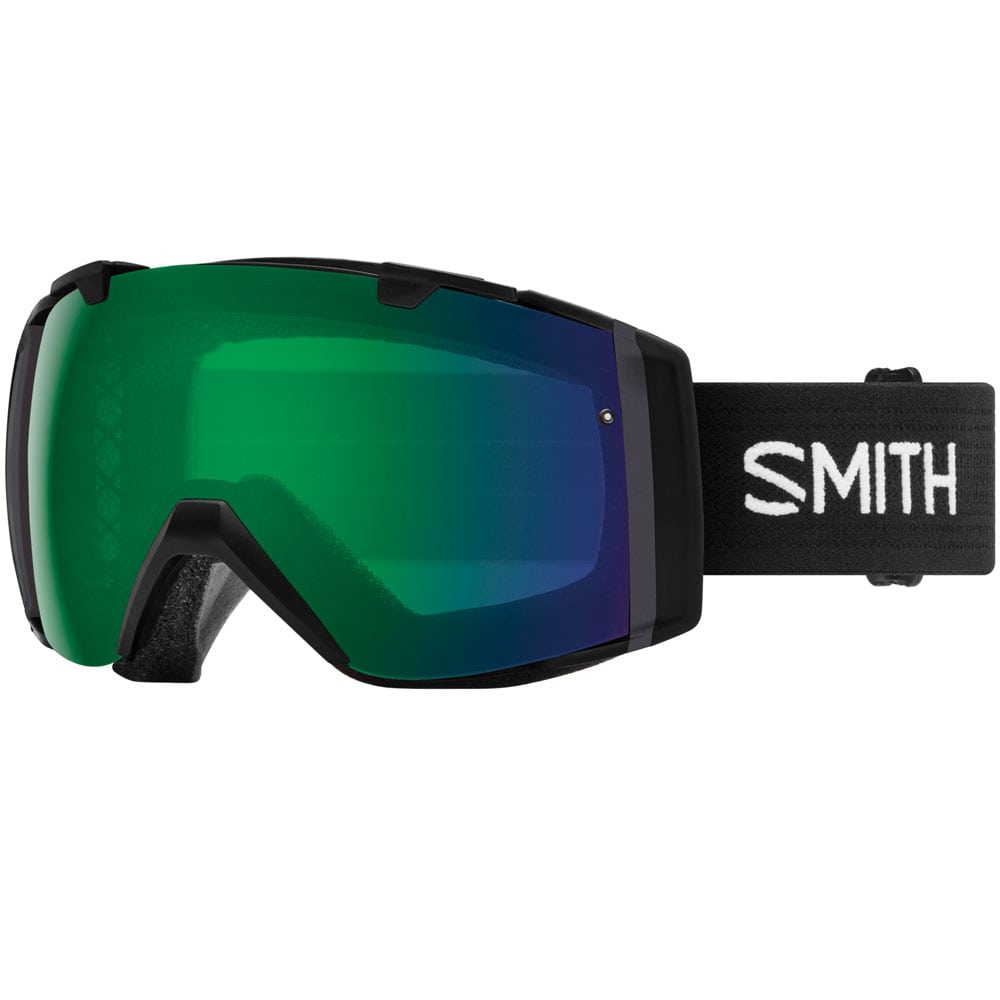 Smith I/O Snowboardbrille Black/Everyday Green Mirror ChromaPop